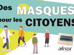 Des masques pour les citoyens